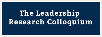 The Leadership Research Colloquium